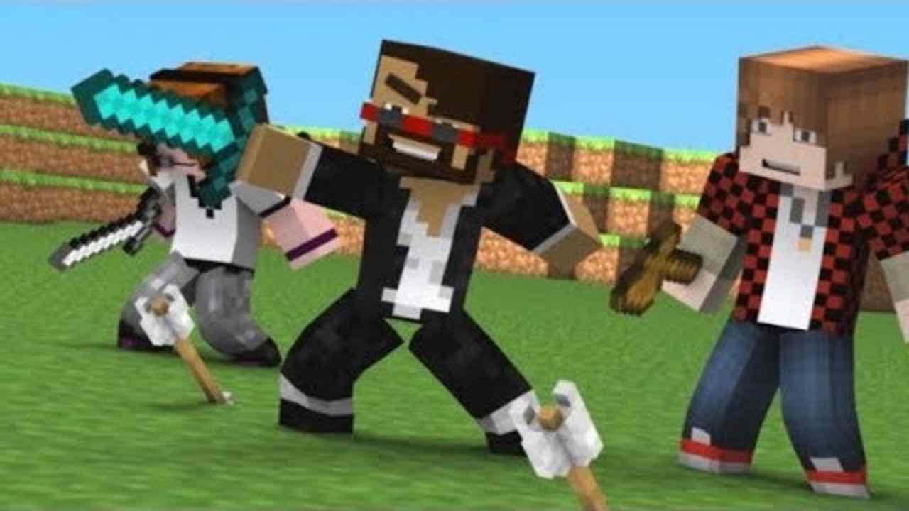 minecraft hunger games videos games videos for kids spiderman