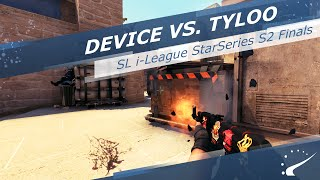device vs tyloo sl i league starseries s2 finals