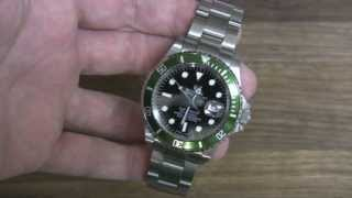 How to tell a FAKE Rolex watch from a REAL One. It isn