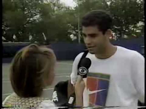 US Open 1995 Highlight show, semifinal preview, Sampras interview, best points