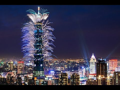 2018 TAIPEI 101 FIREWORKS (FULL VERSION) 4K. TAIPEI CITY, TAIWAN