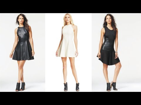 Fascinating Rachel Roy Leather Dress To Powering Your Day