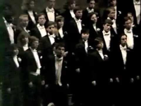 Fern Hill Yale Glee Club 1990 w. Dylan Thomas m. Fenno Heath, soloist: Tom Porter