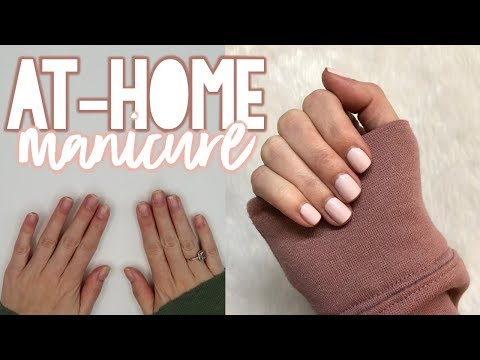 AT-HOME MANICURE TUTORIAL | Sarah Brithinee