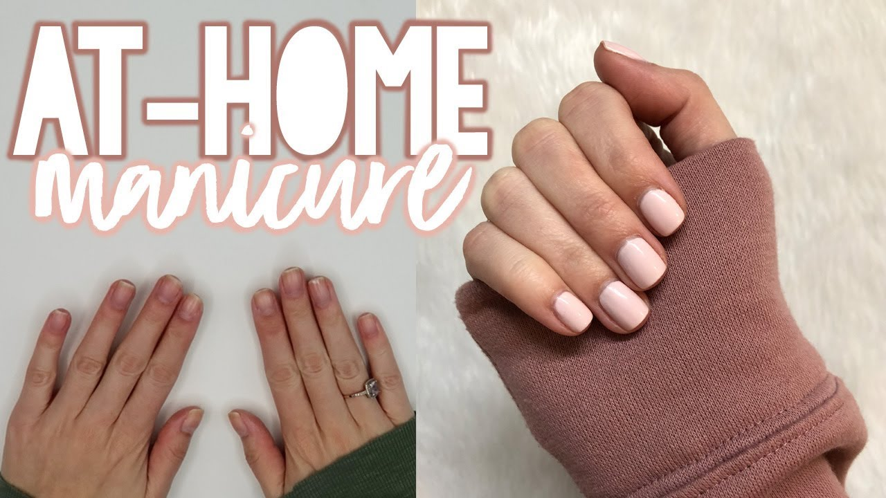 Download AT-HOME MANICURE TUTORIAL | Sarah Brithinee