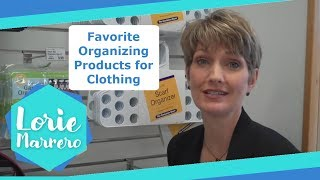 Favorite Organizing Products For Clothing | Clutter Video Tip