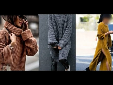 Трикотаж зима -2020 мода для женщин 40 +
