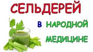 Сельдерей. Сельдерей в народной медицине. 6 рецептов.