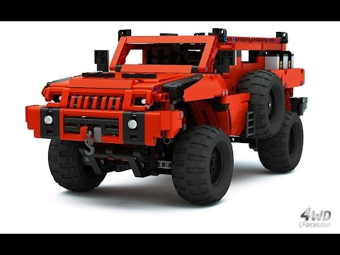 Lego Technic Marauder - Most Advanced Off-Roader - as seen on BBC Top Gear