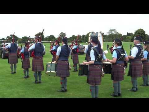Perth And  District Pipe Band Highland Games Perth Perthshire Scotland
