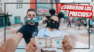 ¿CUÁNTO cuesta IR a DISNEY WORLD en la NUEVA NORMALIDAD? | Disney ORLANDO español