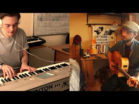"""Andrew Gulin & Callum Macintyre """"Somewhere Only We Know"""" Keane Cover"""