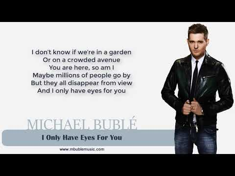 Michael Bublé - I Only Have Eyes For You [Lyrics] Mp3