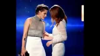 Oops! Kristen Stewart Has a Nip Slip at 2014 Hollywood Film Awards