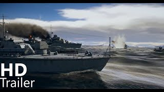 War Thunder  Fleet CBT Trailer