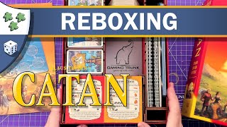 Catan reboxing featuring Gaming Trunk