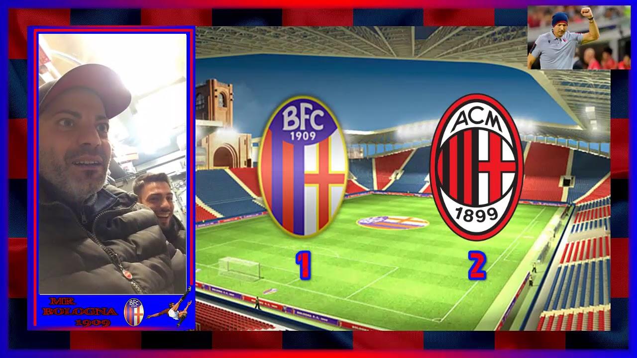 BOLOGNA vs MILAN 2-3 BRAVI LORO - YouTube