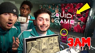 DO NOT WATCH SQUID GAME MOVIE AT 3 AM!! *WE ACTUALLY PLAYED*