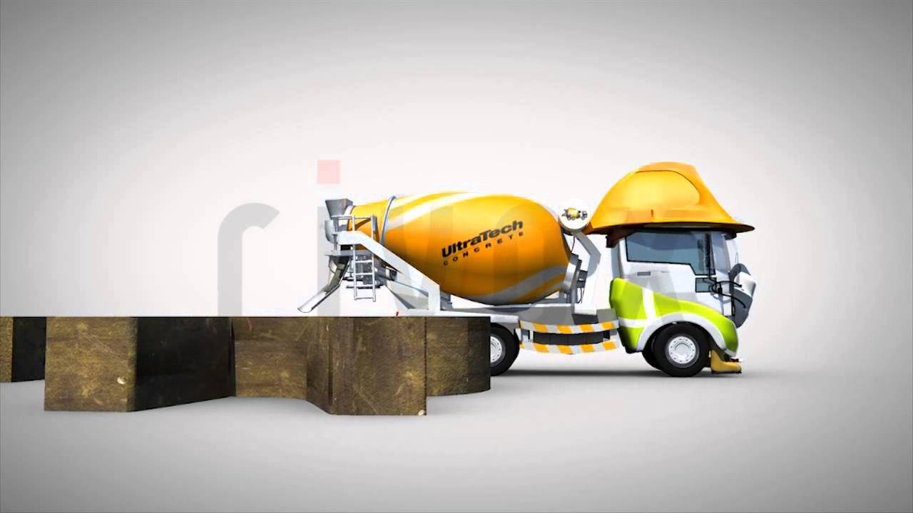 Ultratech Cement Logo : Ultratech pouring logo animation youtube