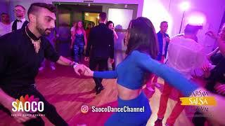 Zang Zaghi and Olesya Petrova Salsa Dancing at El Sol Warsaw Salsa Festival, Sunday 11.11.2018