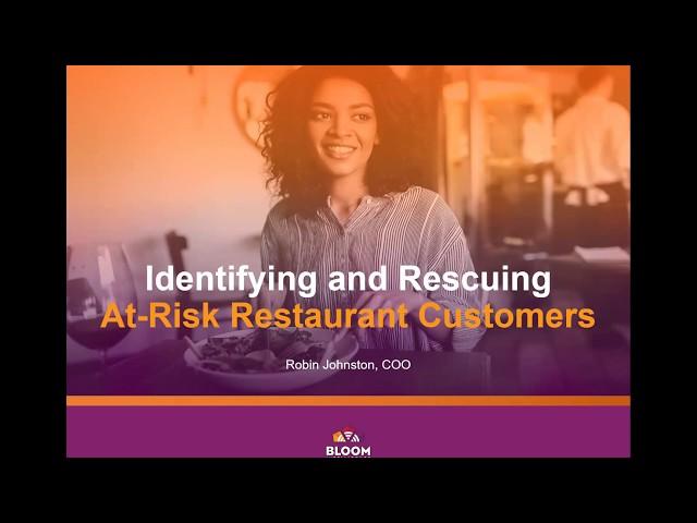WEBINAR: Saving At-Risk and Churning Customers