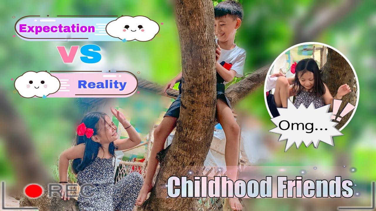 CHILDHOOD BEST FRIEND | BLOOPERS + BEHIND THE SCENE