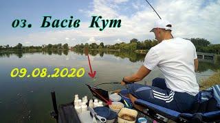 Фідерна рибалка на пляжі озера Басів Кут