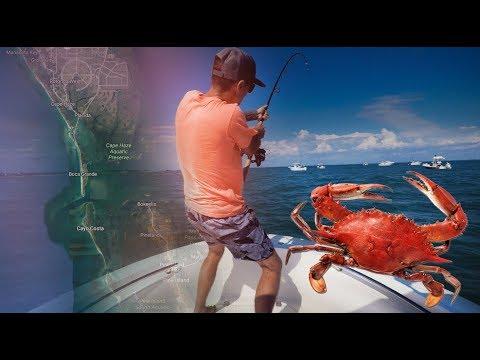 How To Drift Live Crabs For Giant Tarpon Boca Grande, FL - Episode 27
