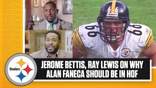 Jerome Bettis, Ray Lewis on why Alan Faneca should be in the Hall of Fame | Pittsburgh Steelers