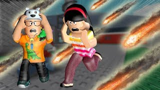 ROBLOX: MY MOTHER AND I IN: THE LAST THAT SURVIVE DISASTER WINS!! -Play Old man