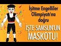 Samsun'da olimpiyat maskotu Çakır!