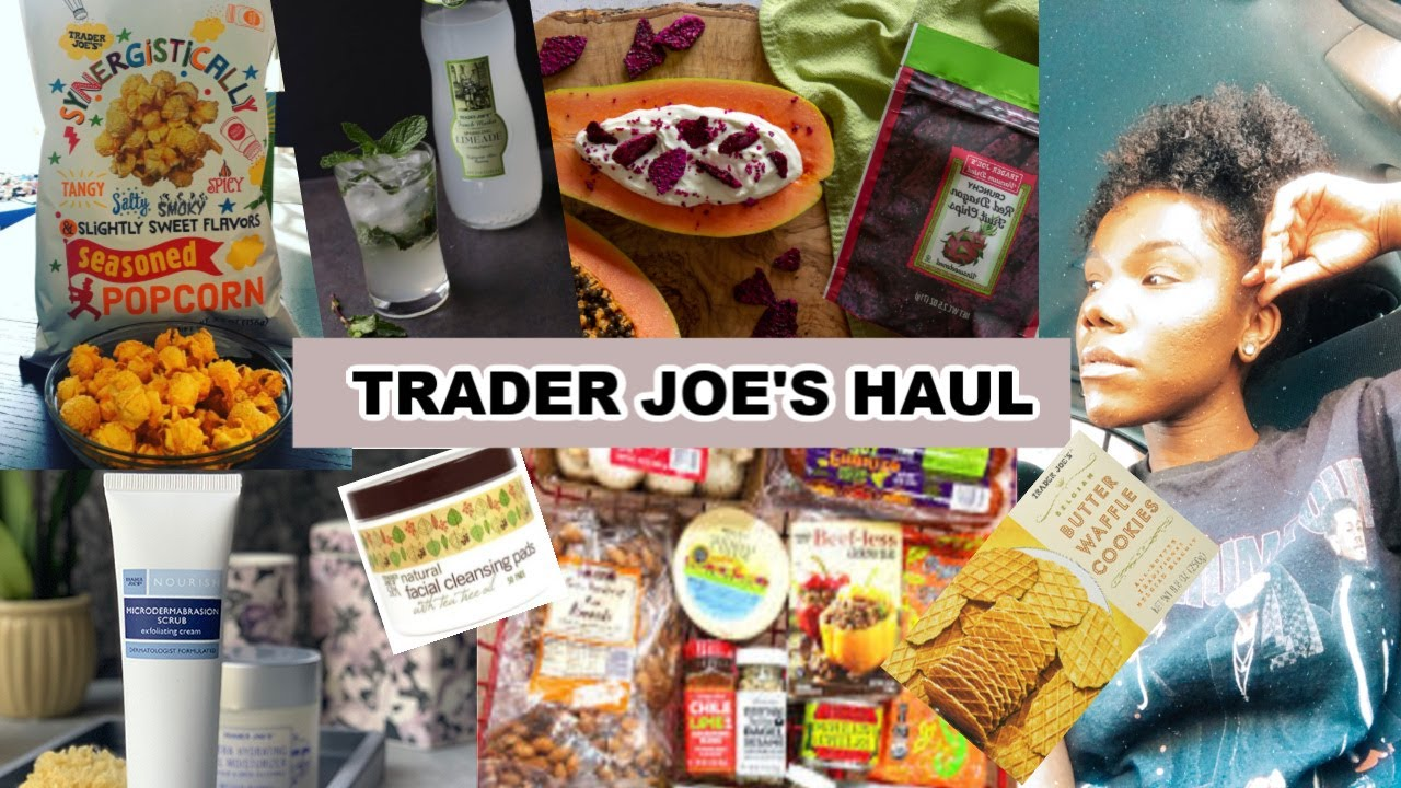 Trader Joe's Haul | Grocery and Self Care Items