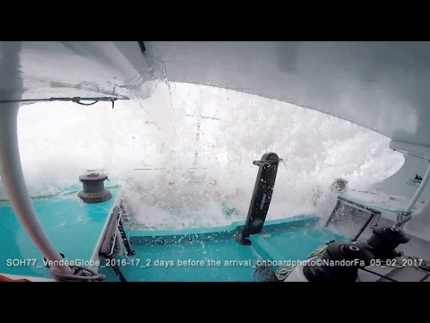 Nandor Fa SOH77 - Vendée Globe 2017 - less than 1000 miles to reach the finish line