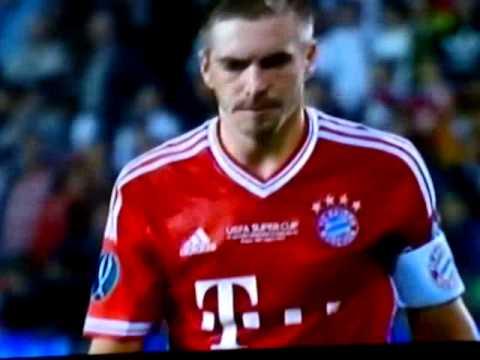 Bayern vs Chelsea (2-2)  Final UEFA Super Cup  2013 penales (5-4)