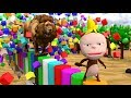 Learn Animals & Fruits With Funny Monkey Style PC games w/Adventure Animals Educational for Kid