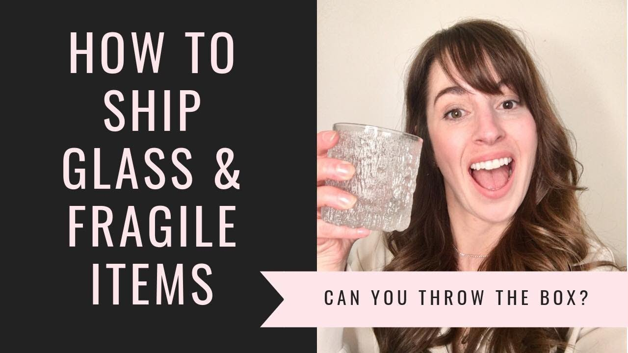 How to ship glass fragile items, ebay, etsy, Mercari, packing tips