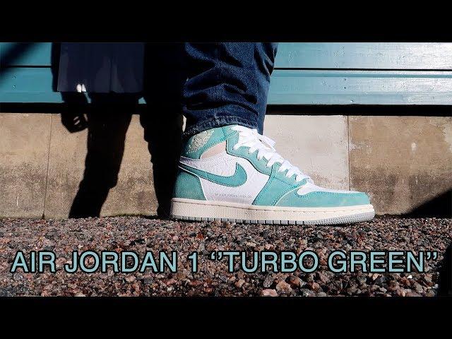 Kuinka mageet on Air jordan 1 ''turbo green'' kengät?