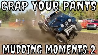 CRAP IN YOUR PANTS MUDDING MOMENTS VOL 02 - CRASHES - CLOSE CALLS - AND BIG JUMPS