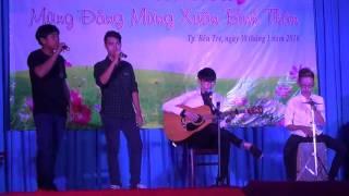 Tết nguyên đán, Long phụng sum vầy cover by Đạt, Trương Nghĩa, No Name tại THPT Võ Trường Toản.