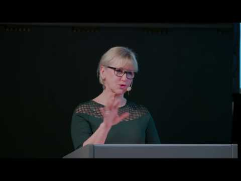 A feminist foreign policy and diplomacy as a tool for peace and gender equality, Margot Wallström