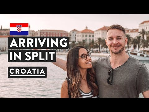 SPLIT FIRST IMPRESSIONS | Zagreb To Split Bus | Croatia Travel Vlog