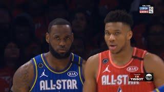 Team LeBron vs Team Giannis 3rd Qtr Highlights | 2020 NBA All-Star Game