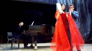 "Franz Lehar - Duet of Hanna and Danilo ""Lippen schweigen"" from the operetta ""Die lustige Witwe"""