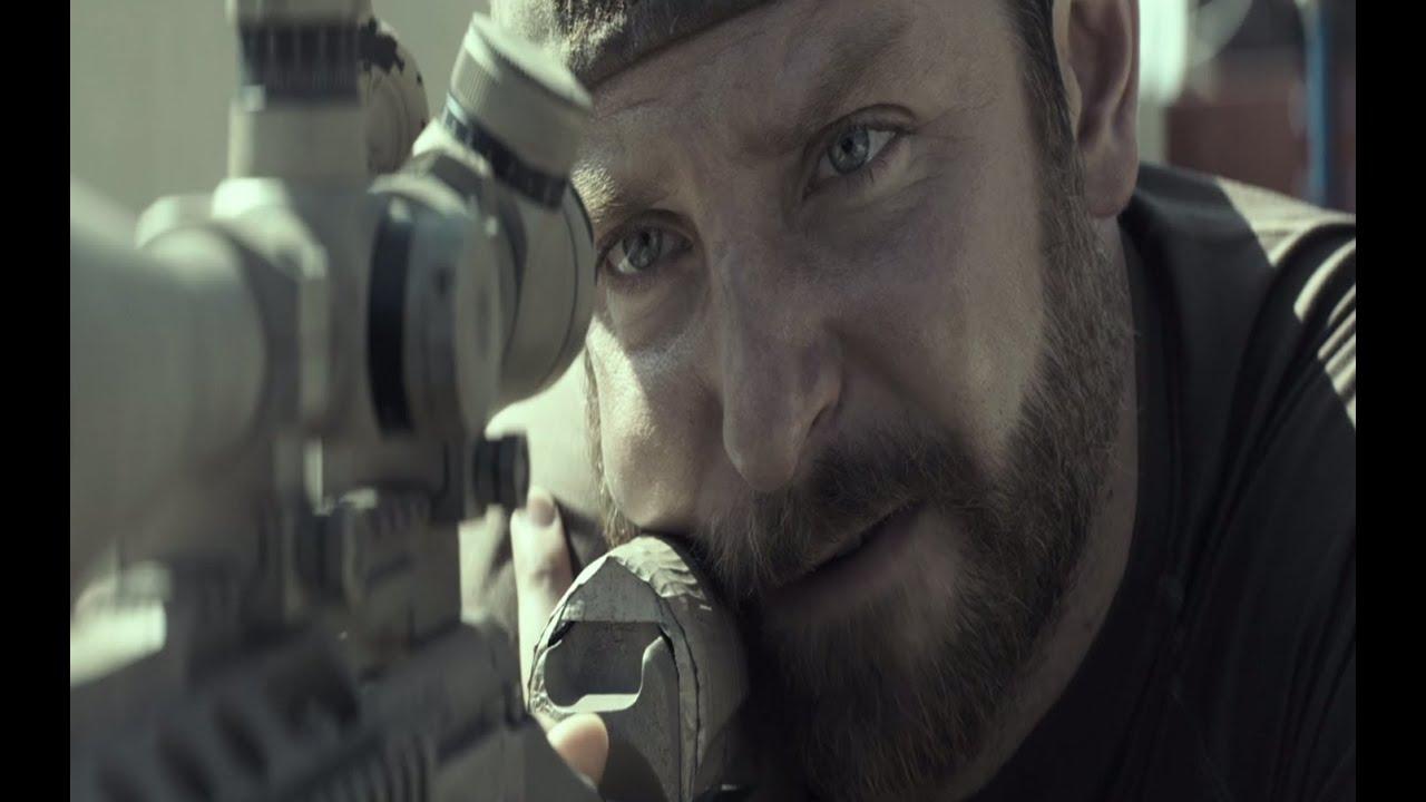 Sniper Americano - Trailer Oficial 2 (leg) [HD]