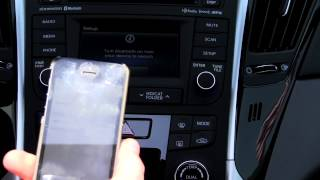 How to Sync iPhone To a 2014 Hyundai Sonata Via Bluetooth | Morrie
