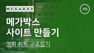 07. 메가박스 사이트 만들기 - 영화 차트 구조잡기