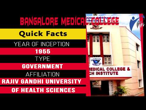 Bangalore Medical College - Introduction