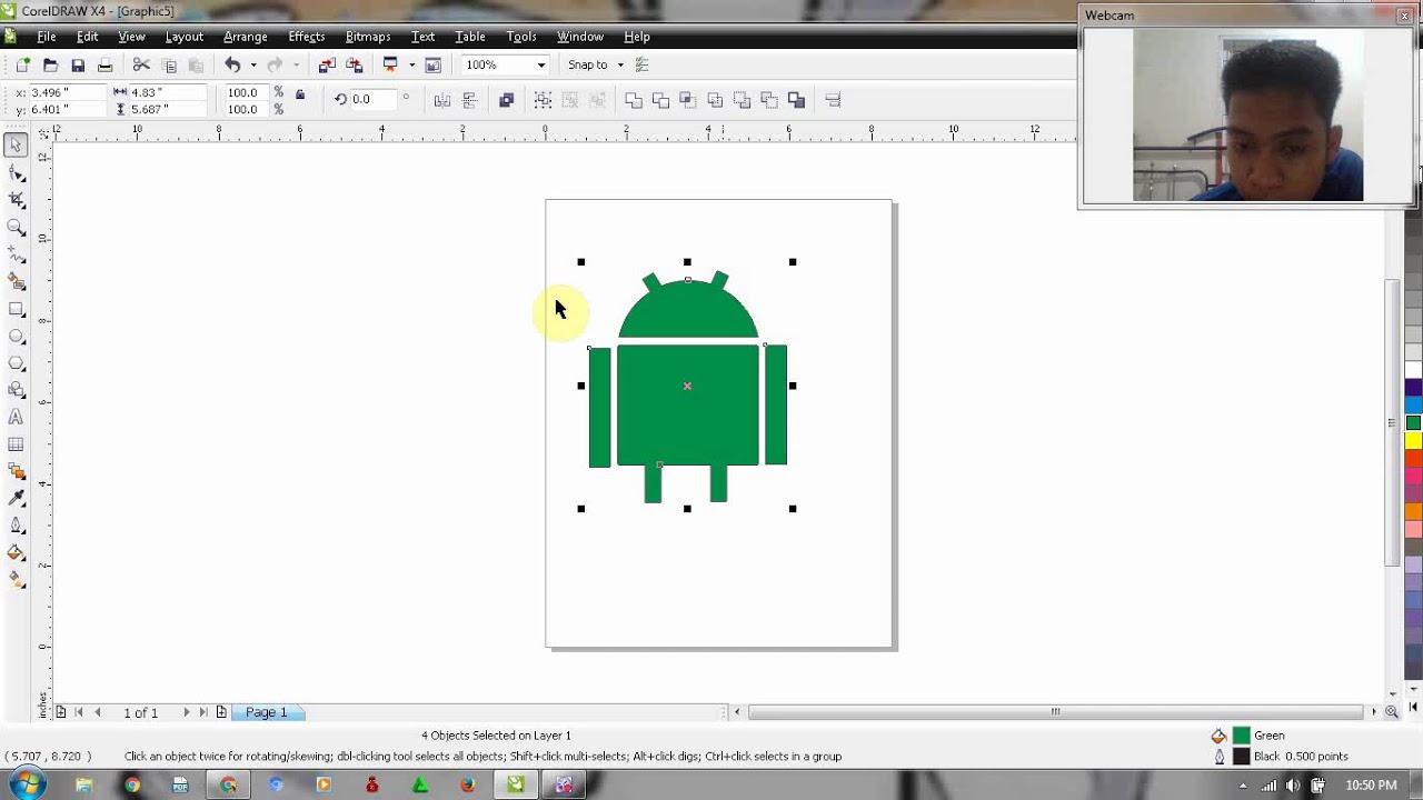 corel draw x4 para android