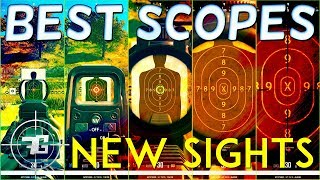 How to EFFECTIVELY use the NEW Scopes and Sights in Playerunknown's BATTLEGROUNDS