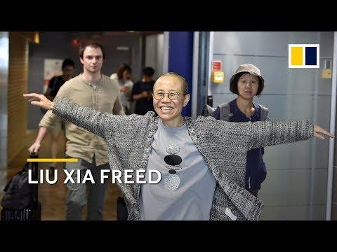 Liu Xia, widow of Nobel Prize winner Liu Xiaobo, leaves China